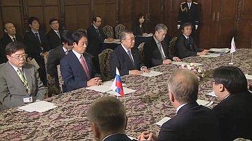 Делегация СФ навстрече сПредседателем нижней палаты Парламента Японии