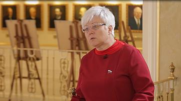 Ольга Тимофеева: Сенаторы считают— рано поздравлять Зеленского