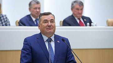 Выступление председателя Законодательного Собрания Пермского края В.Сухих