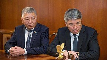Встреча Председателя СФ сруководителями органов власти Бурятии