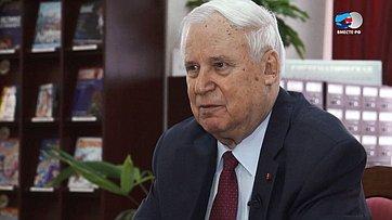 Знакомьтесь, сенатор Н.Рыжков. Передача телеканала «Вместе-РФ»