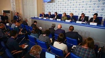 Пресс-конференция поитогам осенней сессии Межпарламентской ассамблеи государств-участников СНГ