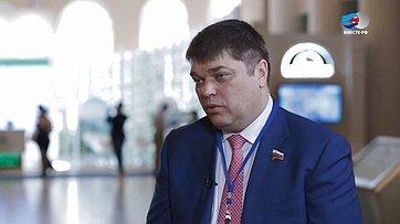 Д. Василенко оНевском экологическом конгрессе