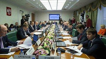Расширенное заседание Комитета СФ поэкономической политике. Запись трансляции от21ноября 2017г