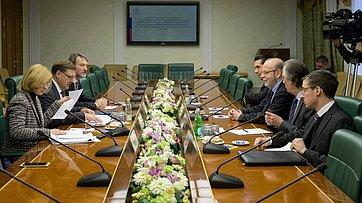 Встреча К. Косачева сПослом Бразилии вРФ А.Салгадо