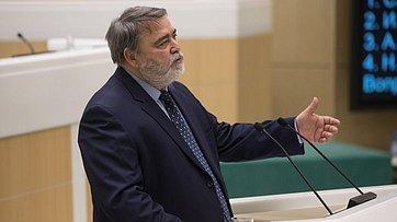 Выступление главы Федеральной антимонопольной службы И.Артемьева вСовете Федерации
