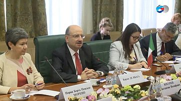 К. Косачев обсудил сзамглавы МИД Мексики предстоящую сессию МПС