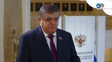 В.Джабаров опринятии Резолюции ПА ОБСЕ
