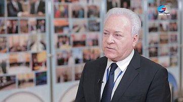 А. Лисицын о25-летии МПА СНГ