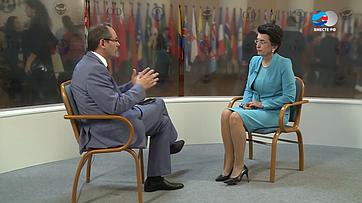Н. Бурджанадзе оВтором Евразийском женском форуме