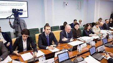 Расширенное заседание Комитета Совета Федерации посоциальной политике. Запись трансляции от26февраля 2019года