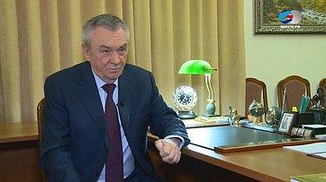 Знакомьтесь, сенатор Владимир Бекетов. Передача телеканала «Вместе-РФ»