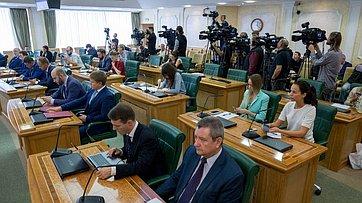 Расширенное заседание рабочей группы Временной комиссии позащите государственного суверенитета ипредотвращению вмешательства вовнутренние дела РФ (Запись трансляции от8августа 2019года)
