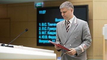 Выступление вСФ председателя правления ОАО «Российские железные дороги» О.Белозерова