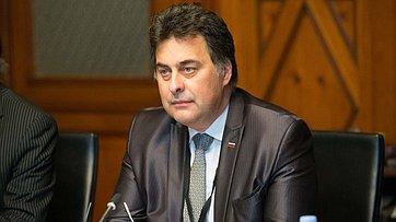 В.Матвиенко провела встречу сПредседателем Госсовета Словении М.Берваром