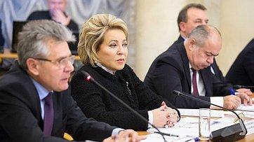 Выступление В. Матвиенко насовместном заседании Совета палаты иПрезидиума Российской академии наук