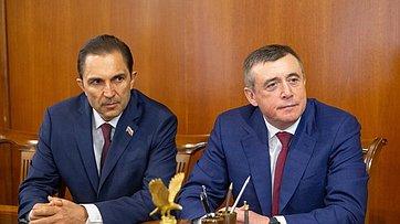 Встреча В.Матвиенко сруководством Сахалинской области