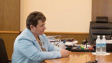 Встреча В.Матвиенко сгубернатором Владимирской области С.Орловой