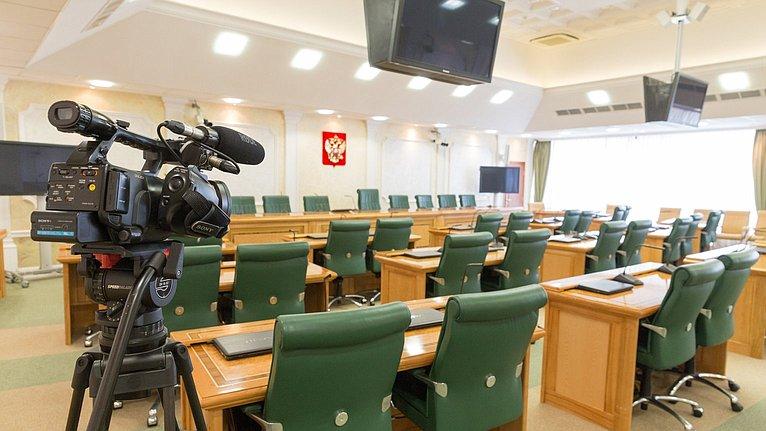 Заседание Совета поАрктике иАнтарктике при Совете Федерации натему «Актуальные проблемы здравоохранения всубъектах Российской Федерации, входящих всостав Арктической зоны Российской Федерации»